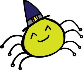 FREEBIE - Halloween Spider Clip Art