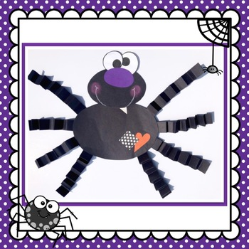 Halloween Spider Craft and Class Book