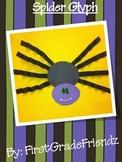 Halloween Spider Glyph
