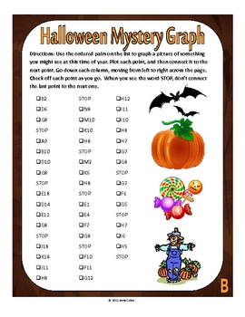 Halloween Spider Mystery Graph