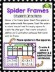 Halloween Spider Ten Frames