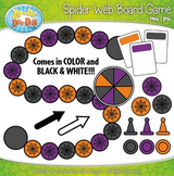 Halloween Spider Web Build A Board Game Clipart {Zip-A-Dee-Doo-Dah Designs}