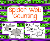 Halloween Spider Web Counting