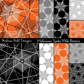Halloween Spider Web Patterns