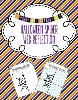 Halloween Spider Web Reflection