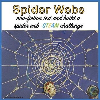 Spider Webs Reading and Make a Web  STEM Challenge