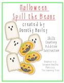 Halloween Spill the Beans Math Computation center