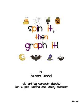 Halloween Spin It, Then Graph It Set