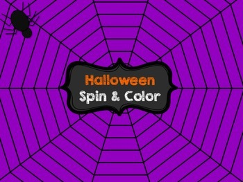 Halloween Spin and Color