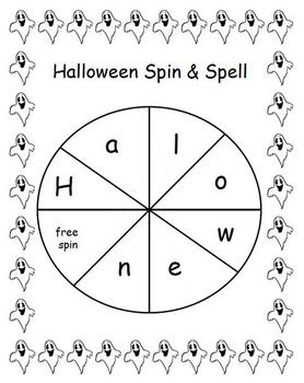 Halloween Spin and Spell