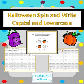 Halloween Spin and Write