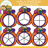 Spinners for Halloween Clip Art
