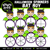 Halloween Spinners Clipart