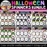 Halloween Spinners Clipart Bundle {Halloween Clipart}