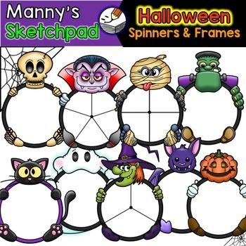 Halloween Spinners & Frames