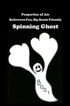 Halloween Spinning Ghosts -- Fun with Hands-on Physical Science