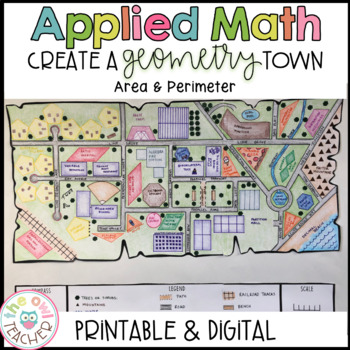 Create a Geometry Town Project Based Learning Activity