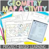 Map Skills | Project Based Learning | Geometry | Printable & Digital | Google