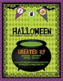 Halloween - Spooking Writing and Grammar Activities