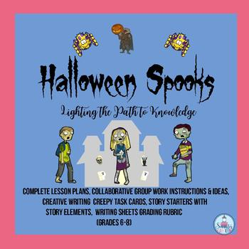 Halloween Spooks: Creative Writing Activity for Middle