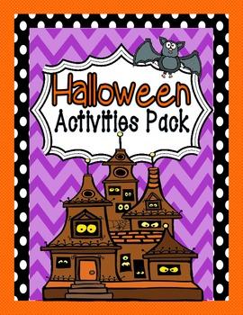 Halloween Unit:  A Spooktacular Halloween Unit With 14 Halloween Activities