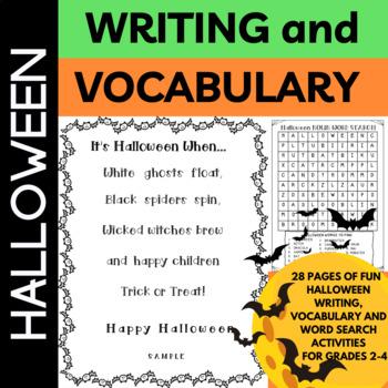 Halloween Spooktacular Halloween Fun for Grades2-4
