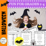Spooktacular Halloween Activities for Second, Third and Fourth Grades