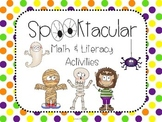 Halloween Spooktacular Math and Literacy Activities