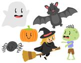 Halloween Spooky Cute Clip Art