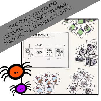 Spooky Sentence Expansion: Counting in Speech and Language Therapy