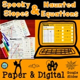 Finding Slope & Writing Equations from Graphs PAPER & DIGI