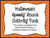 Halloween Spooky Snack Activity Pack