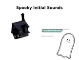 Halloween Spooky Sounds- Letter/ sound match