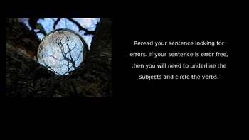 Halloween Spooky Story Sentence Variation Activity