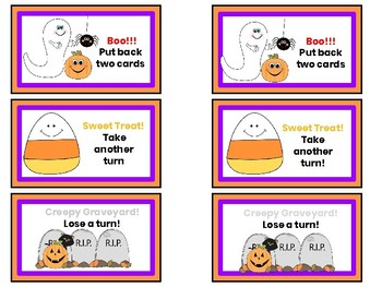Halloween - Spooky Syllables