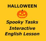 Halloween Spooky Tasks   Interactive Powerpoint
