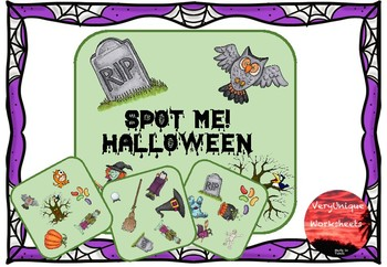 Halloween Spot Me!