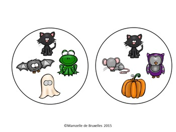 Halloween Spot-it Game / Jeu Spot-it de l'Halloween