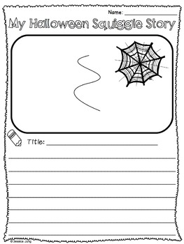Halloween Squiggle Stories: A Creative Writing Activity