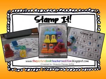 Halloween Stamp It! Addition Freebie