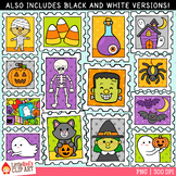 Halloween Stamps Clip Art