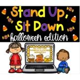 Halloween Stand Up, Sit Down