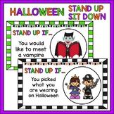 Halloween Stand Up Sit Down - Classroom Brain Break