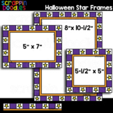 **FREE** Halloween Star Frames / Borders Clipart {Scrappin