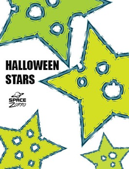 Halloween Stars with Holes ( images )