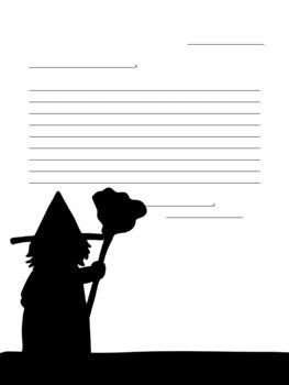 Halloween Stationary
