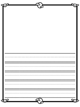 Halloween Stationary / Halloween Writing Paper