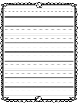 Halloween Stationary / Halloween Writing Paper