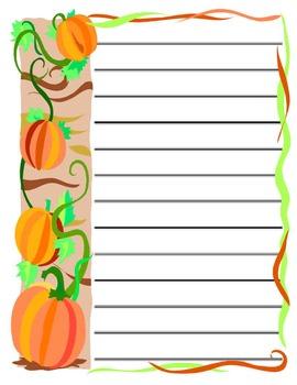 Halloween Stationary Set!!!