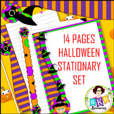 Halloween Stationary - Writing Paper Set